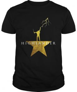 Guys Highlander Hamilton star shirt