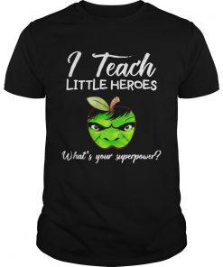 Guys I Teach Little Heroes Hulk Tshirt