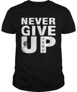 Guys Mohamed Salah Never give up FC Liverpool shirt