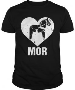 Guys Mor Dalecarlian Horse VersionTshirt