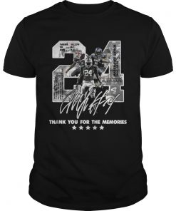 Guys Official 24 Marshawn Lynch thank you for the memories shirt