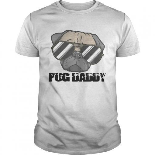 Guys Pug Daddy shirt