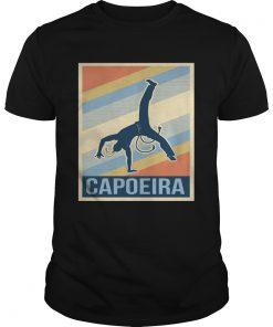 Guys Retro Capoeira Shirt