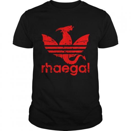 Guys Rhaegal Adidas game of thrones shirt