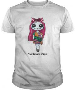 Guys Sally Nightmare Mom Shirt