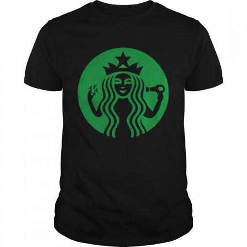 Guys Starbucks Hairdresser shirt