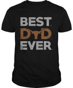 Guys Texas Longhorns best dad ever shirt