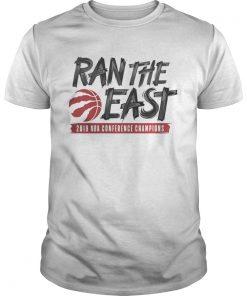 Guys Toronto raptors ran the east 2019 NBA conference champions shirt