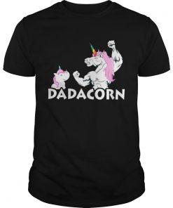 Guys Unicorn Dadacorn shirt