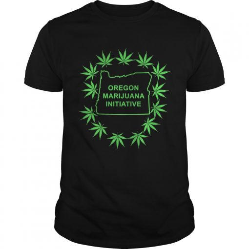 Guys Weed Oregon Marijuana Initiative shirt