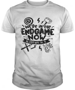 Guys Were In The Endgame Now Tshirt