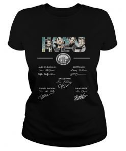 Hawaii Five members signature ladies tee