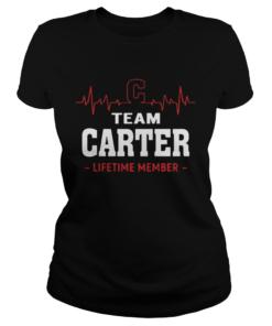 Heartbeat team Carter lifetime member  Classic Ladies