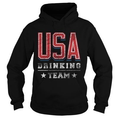 Independence Day Usa Drinking Team hoodie