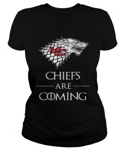 Kansas City Chiefs are coming Game of Thrones ladies tee