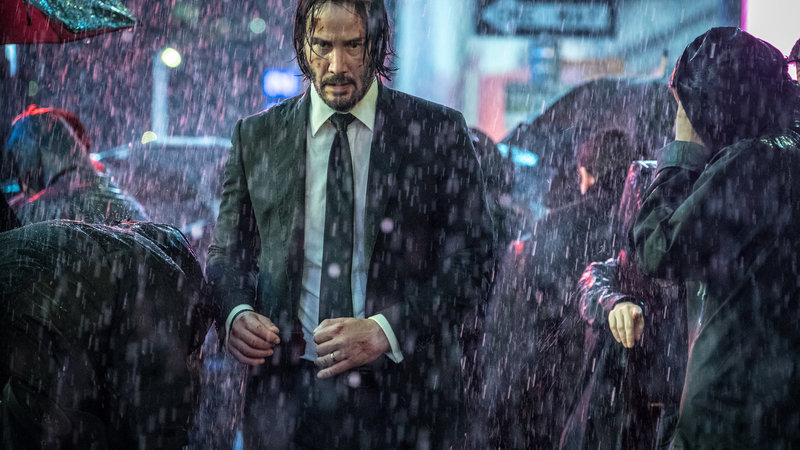 Keanu Reeves is back in the over the top John Wick
