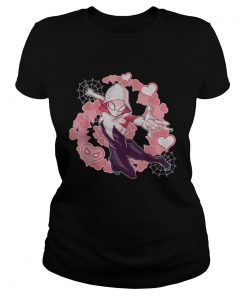 Marvel Spider Man Into the Spide ladies tee