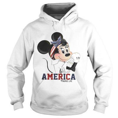 Mickey American nurse life hoodie
