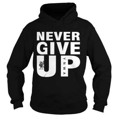 Mohamed Salah Never give up FC Liverpool hoodie