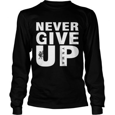Mohamed Salah Never give up FC Liverpool longsleeve tee