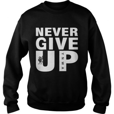 Mohamed Salah Never give up FC Liverpool sweatshirt