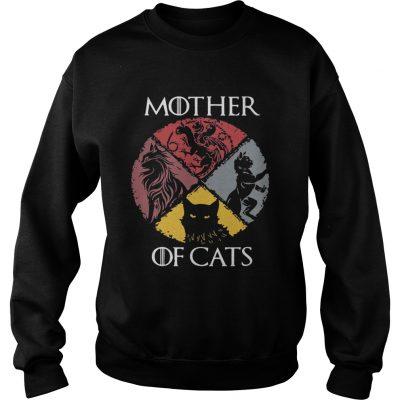 Mother of cats vintage Game of Thrones sweatshirt