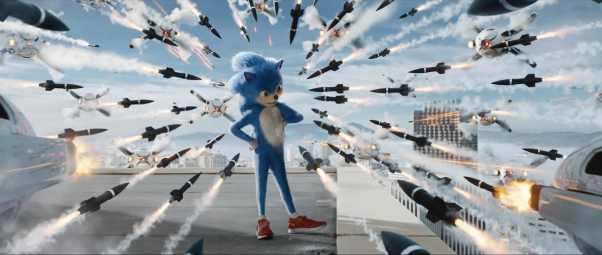 No one can save you from the first trailer for the live-action Sonic the Hedgehog movie