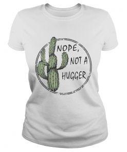 Nope not a hugger ladies tee