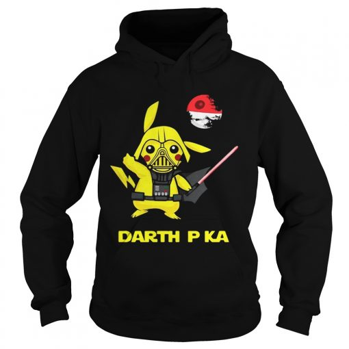 Pikachu cosplay Darth Vader Star Wars hoodie