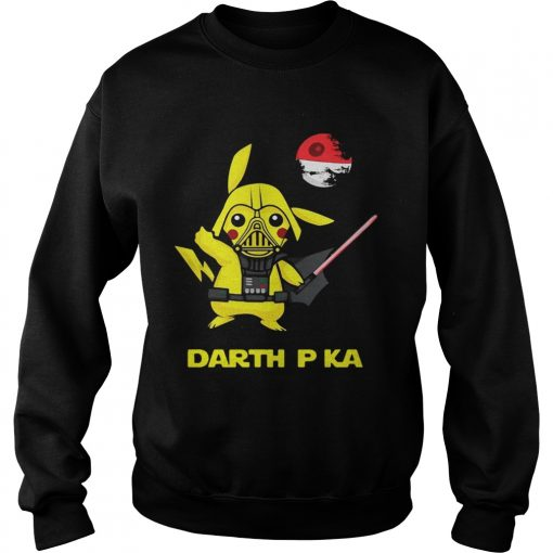 Pikachu cosplay Darth Vader Star Wars sweatshirt