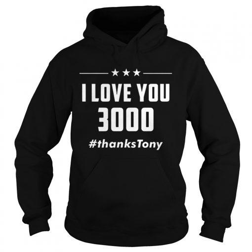 2ea6960c6 Premium I Love You 3000 Arc Reactor Iron Man thanksTony shirt ...