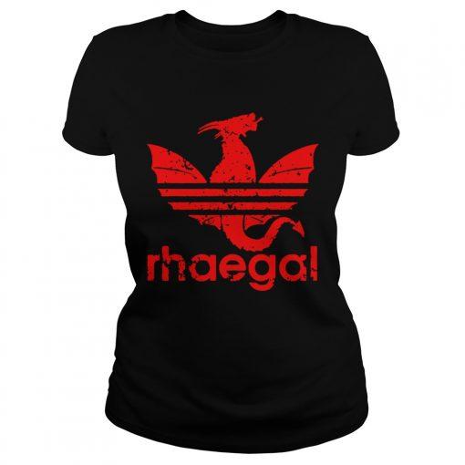 Rhaegal Adidas game of thrones ladies tee