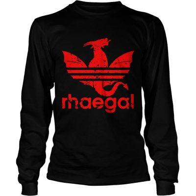 Rhaegal Adidas game of thrones longsleeve tee