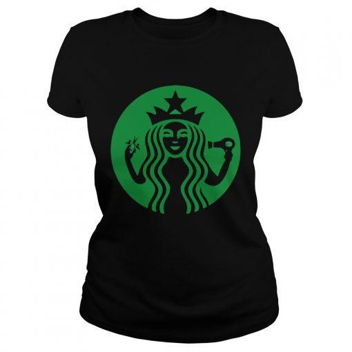 Starbucks Hairdresser ladies tee