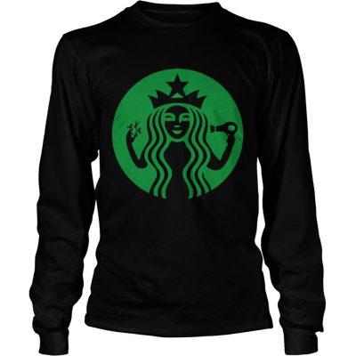 Starbucks Hairdresser longsleeve tee