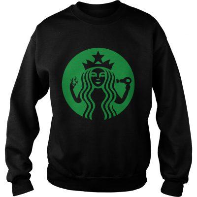 Starbucks Hairdresser sweatshirt