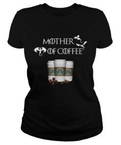 Starbucks Mother of Coffee Game of Thrones ladies tee