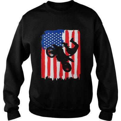 The Freestyler Dirt Line Motor American Flag Sweatshirt