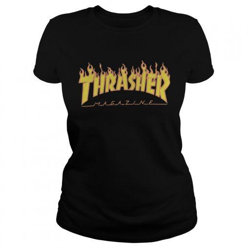 Thrasher ladies tee
