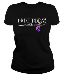 Thyroid cancer not today Game of Thrones ladies tee