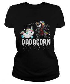 Unicorn Dadacorn ladies tee