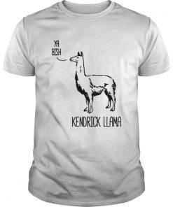 Guys Kendrick Llama Ya Bish shirt