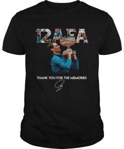 Guys 12 AFA Roland Garros thank you for the memories shirt