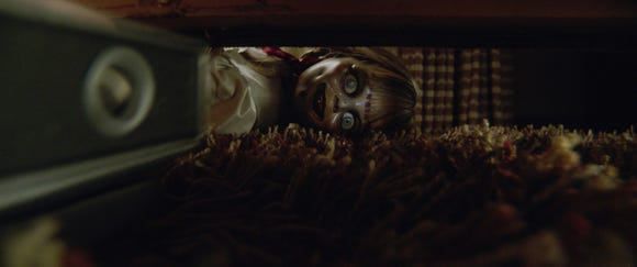 """Annabelle the doll is unleashed for her third movie, """"Annabelle Comes Home."""""""
