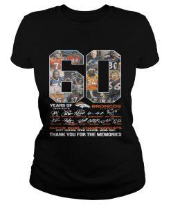 60 years of Denver Broncos signature Super Bowl Champions Classic Ladies