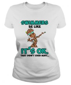 Baby Groot Swimmers Its Ok  Classic Ladies