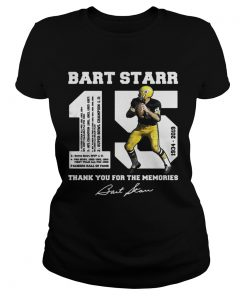 Bart Starr 15 19342019 thank you for the memories  Classic Ladies
