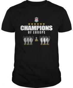 Champions of Europe 2018 2019  Unisex
