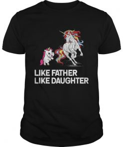 Dad Unicorn Father Daughter Fathers Day  Unisex