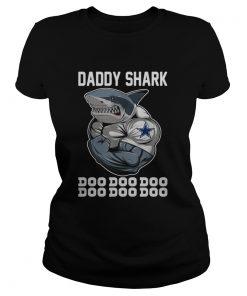 Dallas Cowboys Daddy shark doo doo doo  Classic Ladies